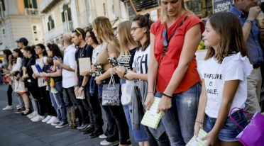 BookMob in Piazza Dante a Napoli