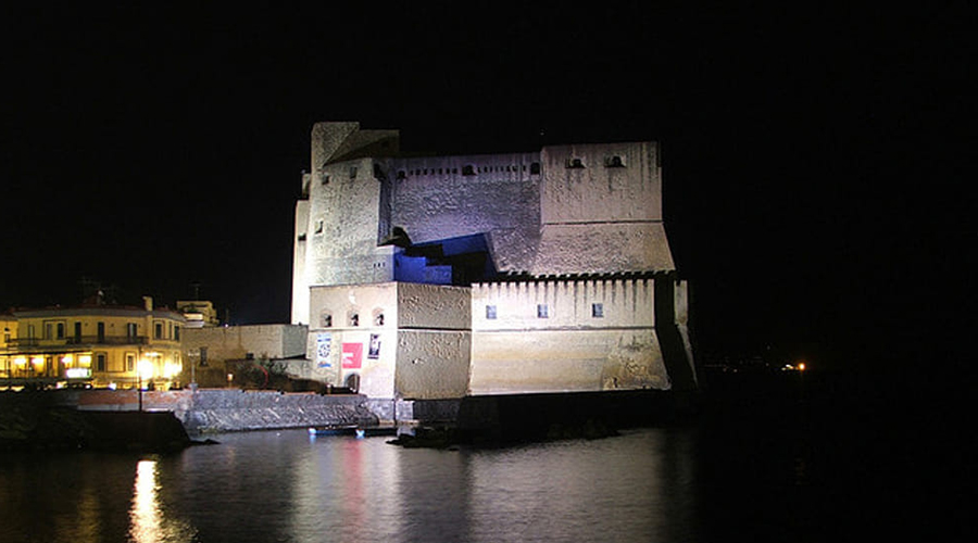 Castel dell'Ovo in the evening