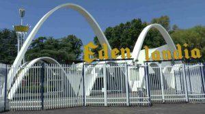 2019 Osterposter im Edenlandia in Neapel: Spiel und Spaß für alle