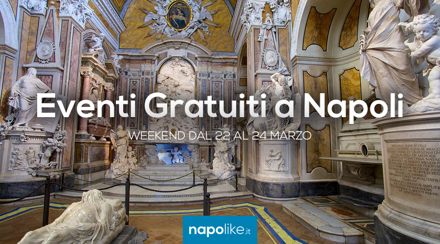 Free events in Naples during the weekend from 22 to 24 in March 2019