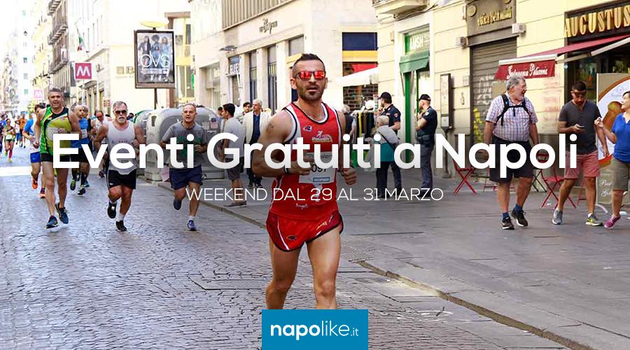 Eventi gratuiti a Napoli nel weekend dal 29 al 31 marzo 2019