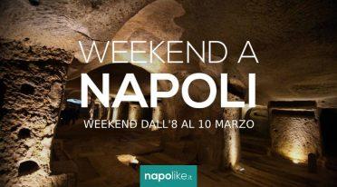 8から10の週末のナポリでのイベント3月2019