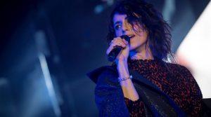 locandina di Giorgia in concerto al Palapartenope di Napoli con il suo Pop Heart Tour 2019