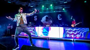 """Sfera Ebbasta poster in concert at the Palapartenope with his """"Popstar tour 2019"""""""