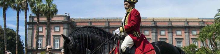 Alla Corte del Re à Capodimonte à Naples: entrée gratuite avec manège et jeux équestres