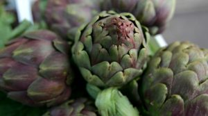 Artichoke Festival poster of Paestum 2019 with delicious dishes and many events