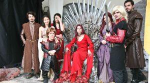 Cosplay di Game of Thrones nel Comicon a Napoli