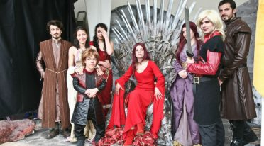 Cosplay de Game of Thrones au Comicon de Naples
