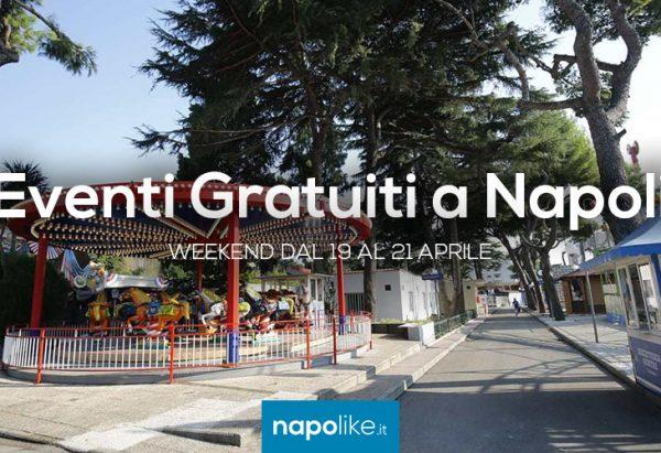 Kostenlose Events in Neapel am Wochenende von 19 bis 21 am April 2018