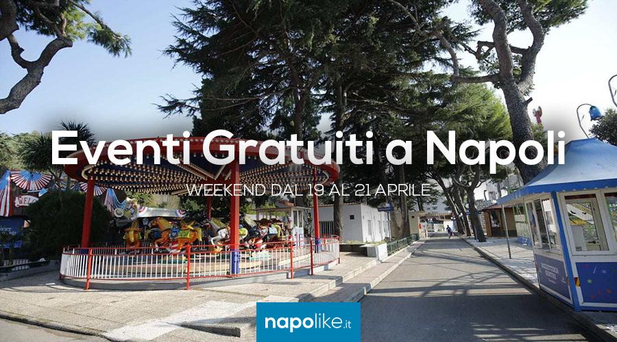 Eventi gratuiti a Napoli nel weekend dal 19 al 21 aprile 2018