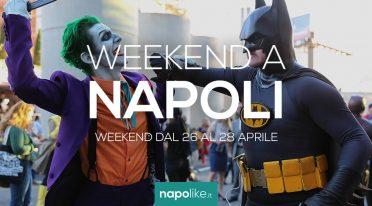 Veranstaltungen in Neapel während des Wochenendes von 26 zu 28 am April 2019