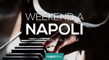 Veranstaltungen in Neapel während des Wochenendes von 5 zu 7 am April 2019