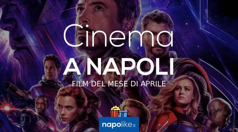 Film in den Kinos von Neapel im April 2019