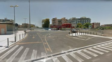 ANM car park in Bagnoli
