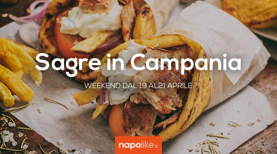 Sagre in Campania nel weekend dal 19 al 21 aprile 2019