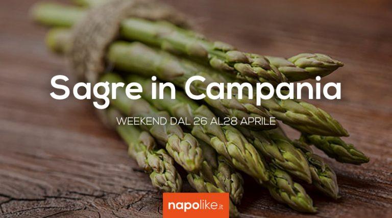 26から28 April 2019への週末のCampaniaでの祭典