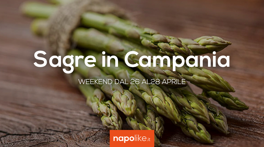 Sagre in Campania nel weekend dal 26 al 28 aprile 2019