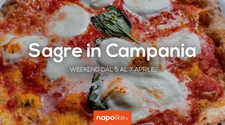 5から7 April 2019への週末のCampaniaでの祭典