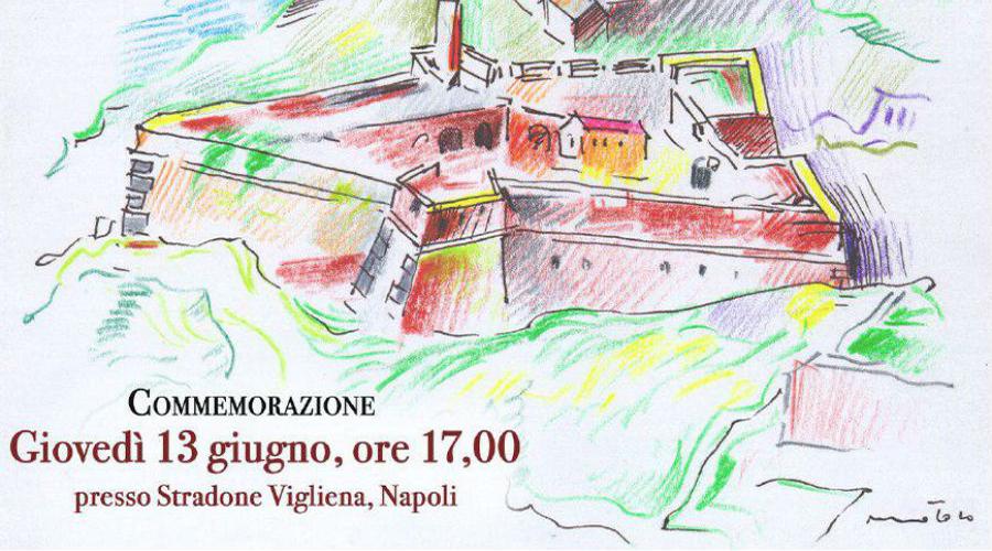 Commemorazioone Forte di Vigliena a Napoli