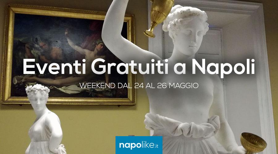 Eventos gratuitos en Nápoles durante el fin de semana desde 24 hasta 26 May 2019