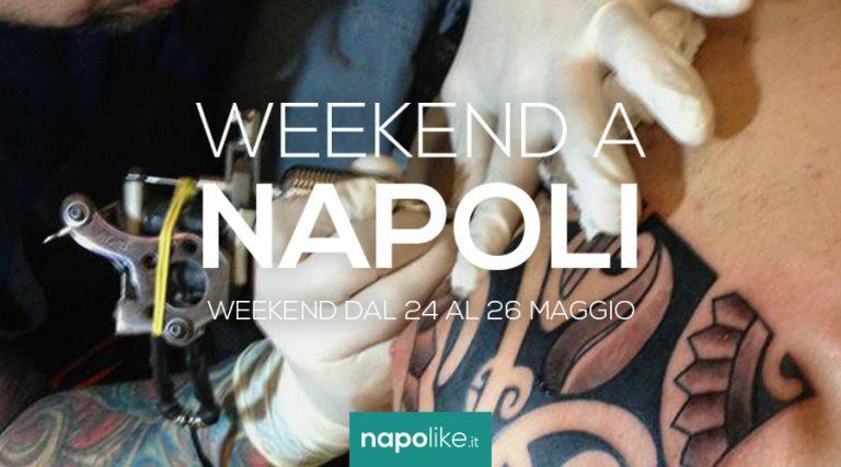 24から26への週末のナポリのイベントMay 2019