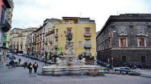 locandina di Piazza Creativa 2019 a Napoli: in Piazza Monteoliveto giochi, teatro e fiabe