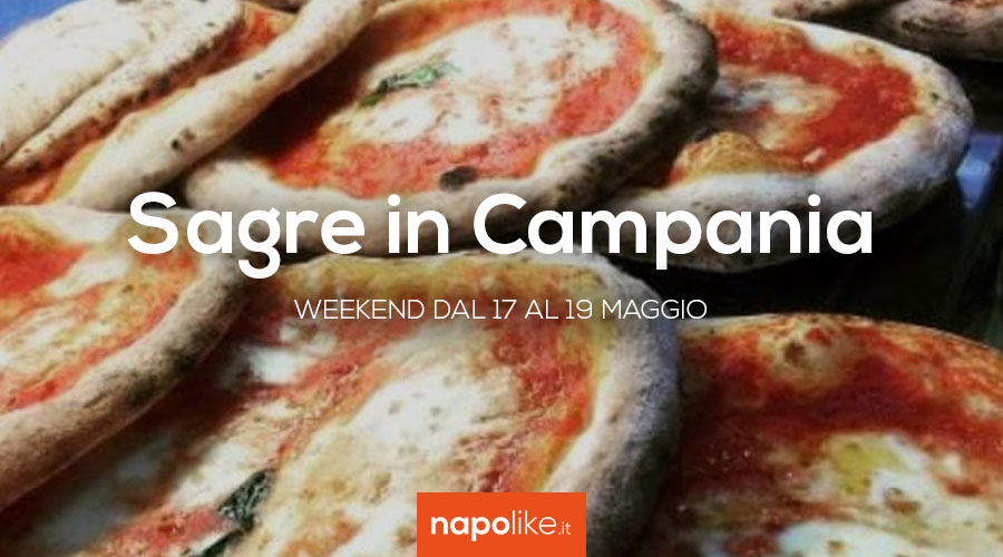 Festivals in Campania in the weekend from 17 to 19 May 2019