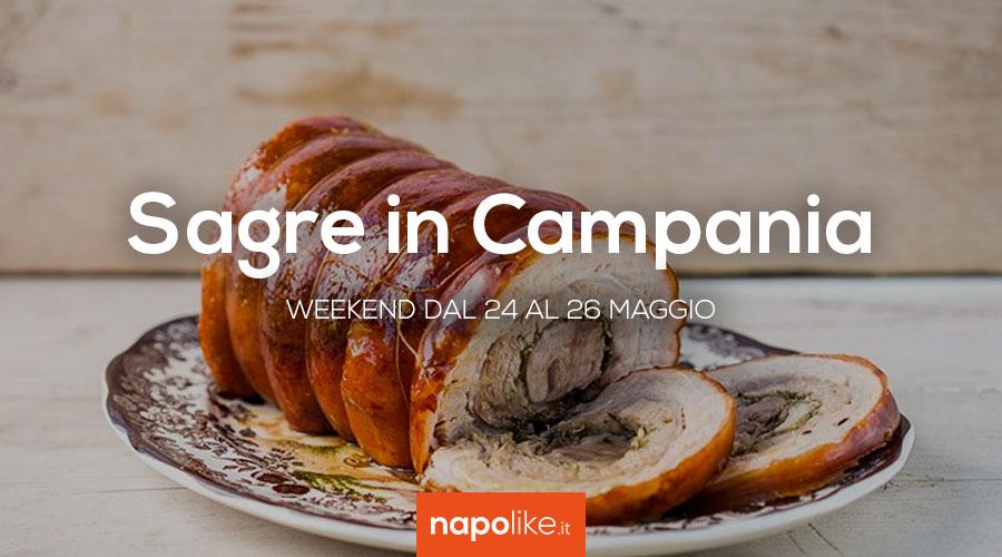 Sagre in Campania nel weekend dal 24 al 26 maggio 2019