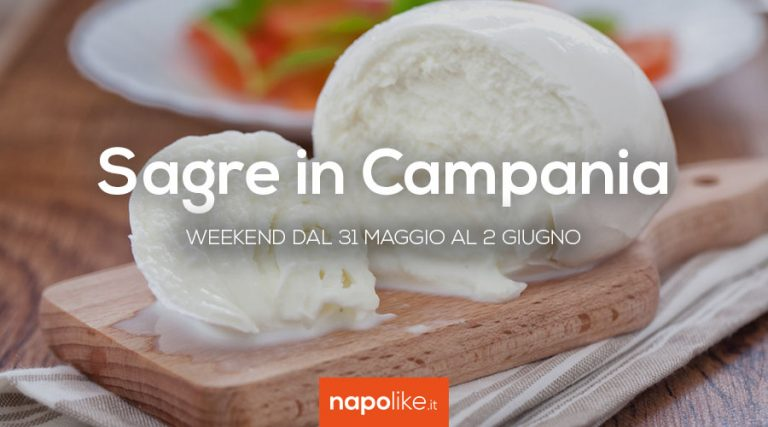 Festivals in Campania over the weekend from 31 May to 2 June 2019