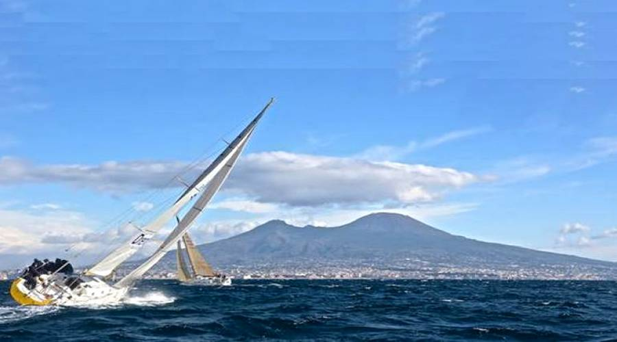sailboats in Naples