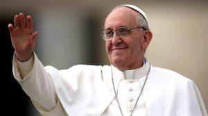 papa Bergoglio a Napoli