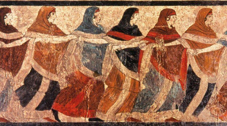 Bailarines de ruvo