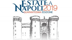 Summer poster in Naples 2019 with many events, concerts, theater, exhibitions and cinema in the city