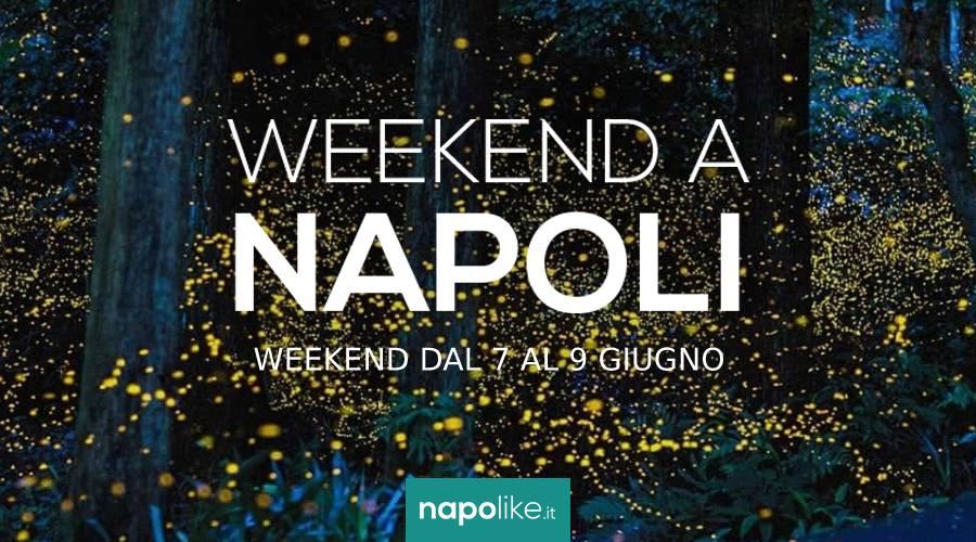 ナポリでの週末のイベント、6月の7から9へ2019