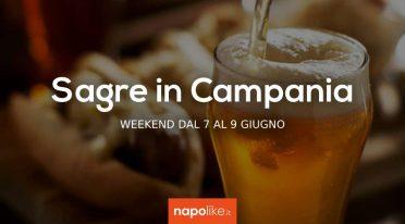 Sagre in Campania nel weekend dal 7 al 9 giugno 2019