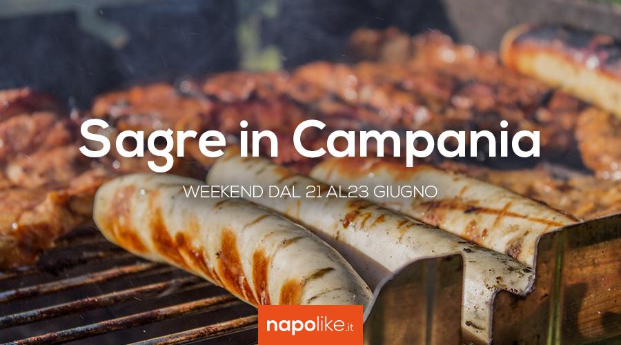 Sagre in Campania nel weekend dal 21 al 23 giugno 2019