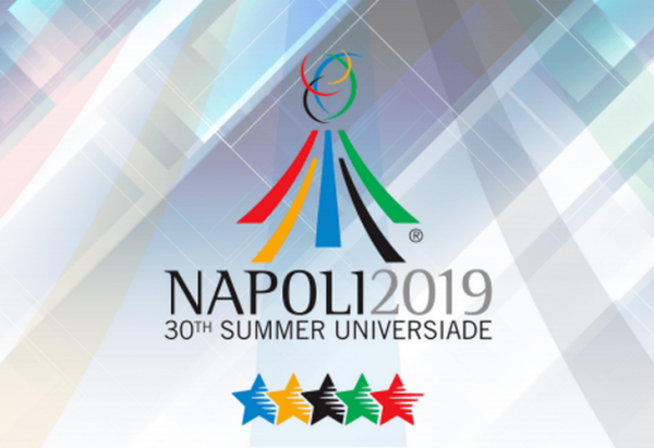 Affiche de l'Universiade à Naples