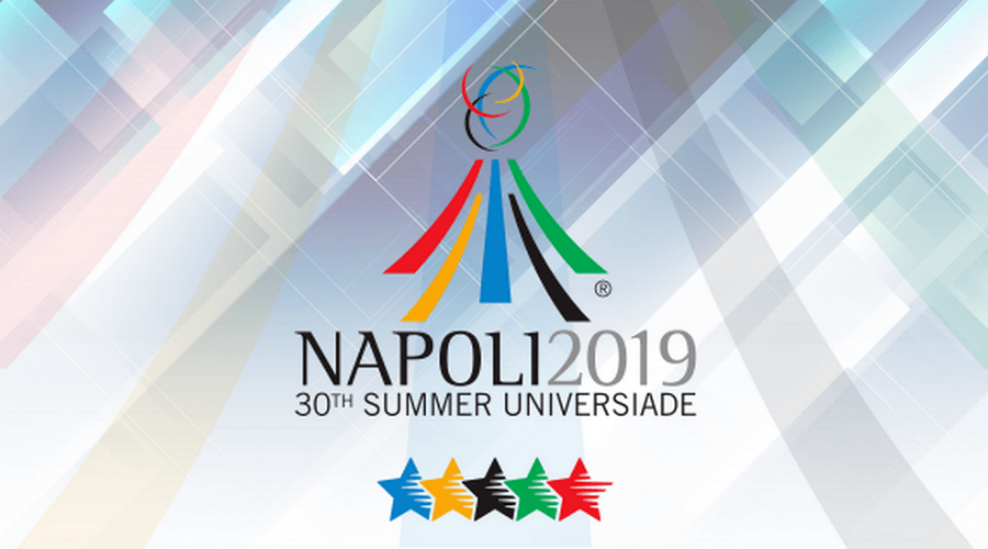 Locandina Universiadi a Napoli