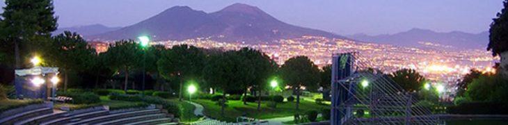 Cine en el Parco del Poggio en Nápoles
