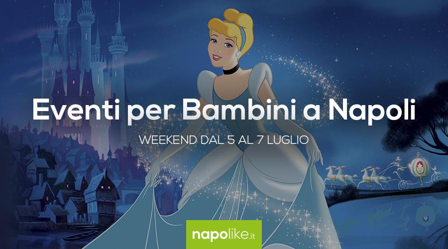 Eventi per bambini a Napoli nel weekend dal 5 al 7 luglio 2019