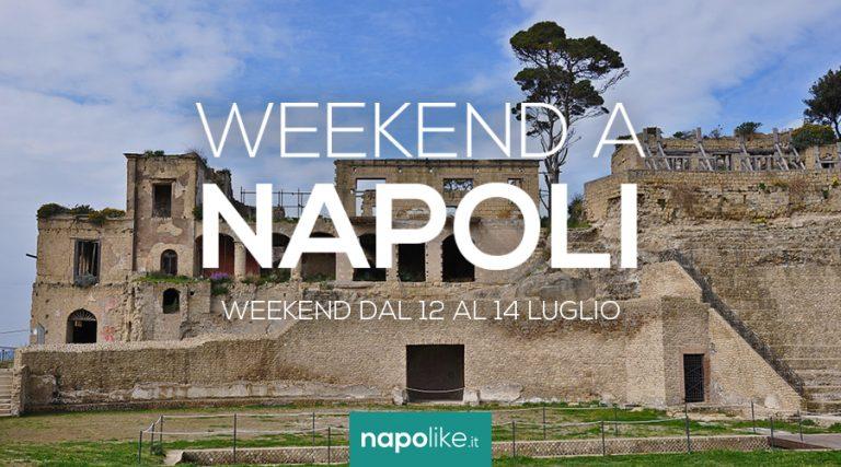 12から14への週末のナポリのイベントJuly 2019