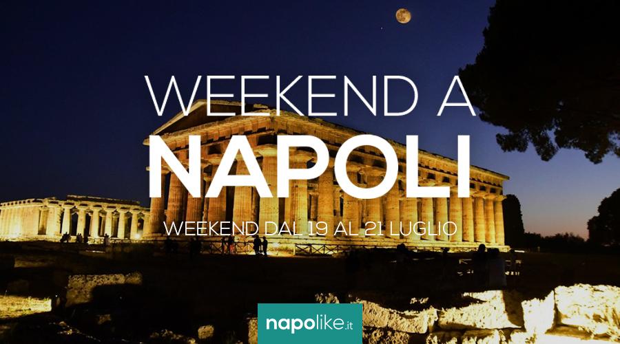 19から21への週末のナポリのイベントJuly 2019