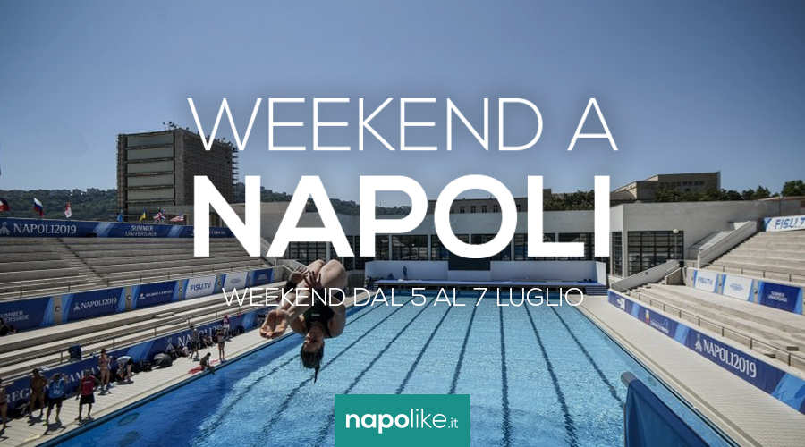 Events in Naples during the weekend from 5 to 7 July 2019