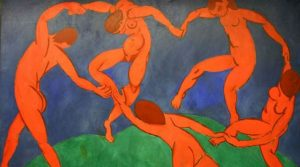 poster by Henri Matisse on display at the Villa Fiorentino in Sorrento
