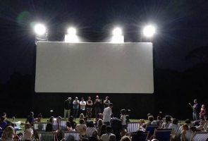 cinéma en plein air au bois de capodimonte