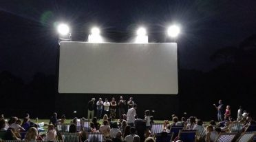 cinema all'aperto al bosco di capodimonte