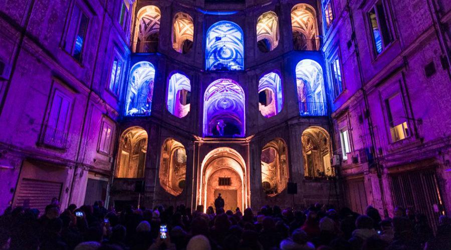 locandina di Benvenuti al Rione Sanità 2019 a Napoli: concerti e spettacoli