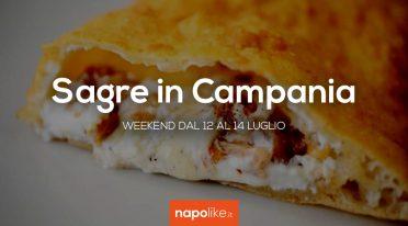 Sagre in Campania nel weekend dal 12 al 14 luglio 2019
