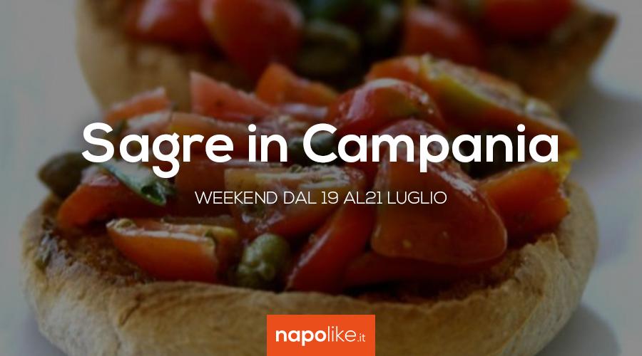 Festivals en Campanie le week-end de 19 à 21 July 2019