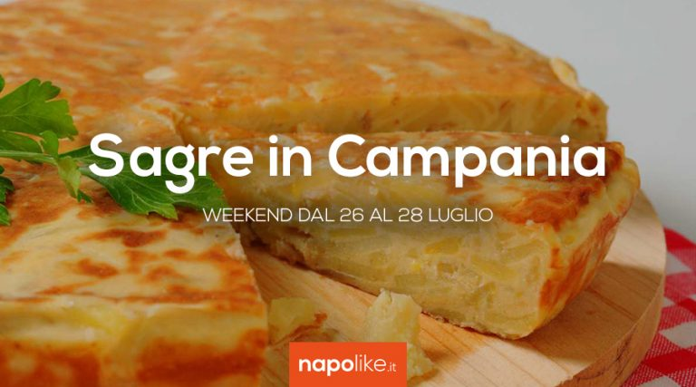 Festivals in Campania in the weekend from 26 to 28 July 2019